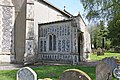 St Michael and All Angels, Bunwell, Norfolk - Porch - geograph.org.uk - 1278014.jpg