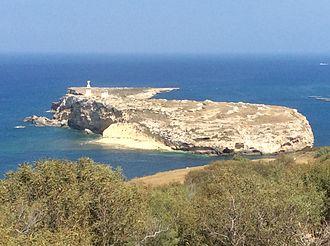 St Paul's Island - The island as seen from Mellieħa