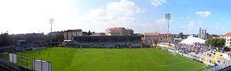 """U.S. Alessandria Calcio 1912 - Stadium """"Giuseppe Moccagatta"""" today."""