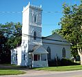 Stafford Village Four Corners Historic District - Episcopal Church Aug 10.JPG