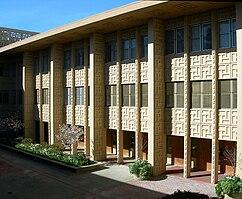 Centro médico, Universidad de Stanford, Palo Alto, California (1955)