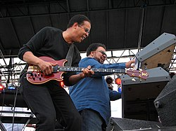 Bassist Stanley Clarke & keyboardist George Duke 2006}