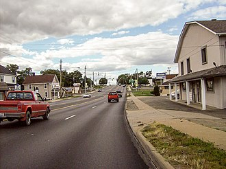 Wintersville, Ohio - Along State Route 43 in Wintersville