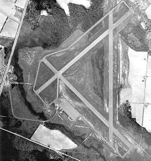 Statesboro–Bulloch County Airport - 1943 airphoto