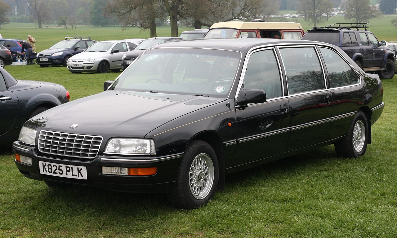 file statesman badged limousine apparently based on a stretched vauxhall senator b jpg. Black Bedroom Furniture Sets. Home Design Ideas
