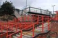 Station access and footbridge, Newtown - geograph.org.uk - 1165843.jpg