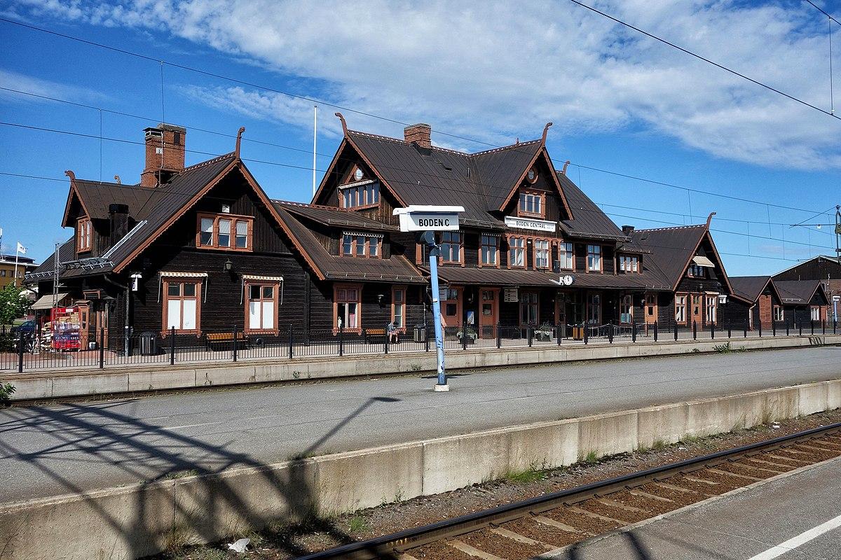 Bodens centralstation wikipedia for Boden bilder