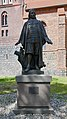 Statue St Moritz-Kirchstr 2-8 (Mittenwalde) Paul Gerhardt.jpg