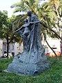 Statue of Eça de Queirós (Rua do Alecrim - Lisbon) - Apr 2007.jpg