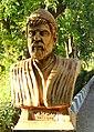 Statue of Kurdish poet Wali Dewane in Sulaymaniyah, Kurdistan, Iraq.JPG