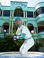 Statue of Sammy Sosa outside the 30-30 Shopping Center - San Pedro de Macoris - Dominican Republic.jpg