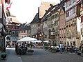 Stein am Rhein. Les maisons peintes du centre-ville.jpg