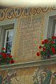 Stein am Rhein Inschrift am Haus 'Zum schwarzen Horn'.jpg