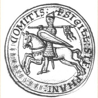 Stephen, Count of Blois - Seal of Stephen II