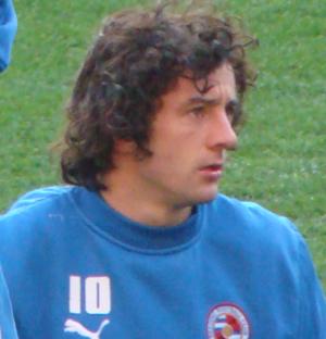 Stephen Hunt (footballer, born 1981) - Hunt with Reading