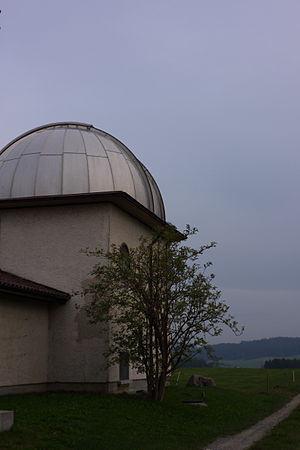 Zimmerwald Observatory - The Zimmerwald Observatory in 2009