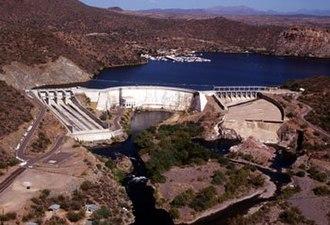 Salt River Project - Stewart Mountain Dam and Saguaro Lake