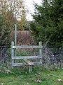 Stile near Burwarton Park, Shropshire - geograph.org.uk - 606987.jpg