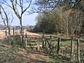 Stile on Monarch's Way Path, Long Saw Croft - geograph.org.uk - 1212768.jpg
