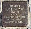 Stolperstein Badensche Str 14 (Wilmd) Sofie Meyer.jpg