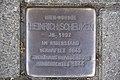 Stolperstein Duisburg 500 Duissern Hansastraße 38 Heinrich Scheuken.jpg