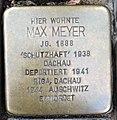 Stolperstein Kleve Herzogstraße 29 Max Meyer.jpg