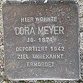 Stolperstein Lüdinghausen Olfener Straße 10 Dora Meyer.jpg