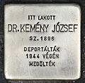 Stolperstein für Dr. Jozsef Kemeny.jpg