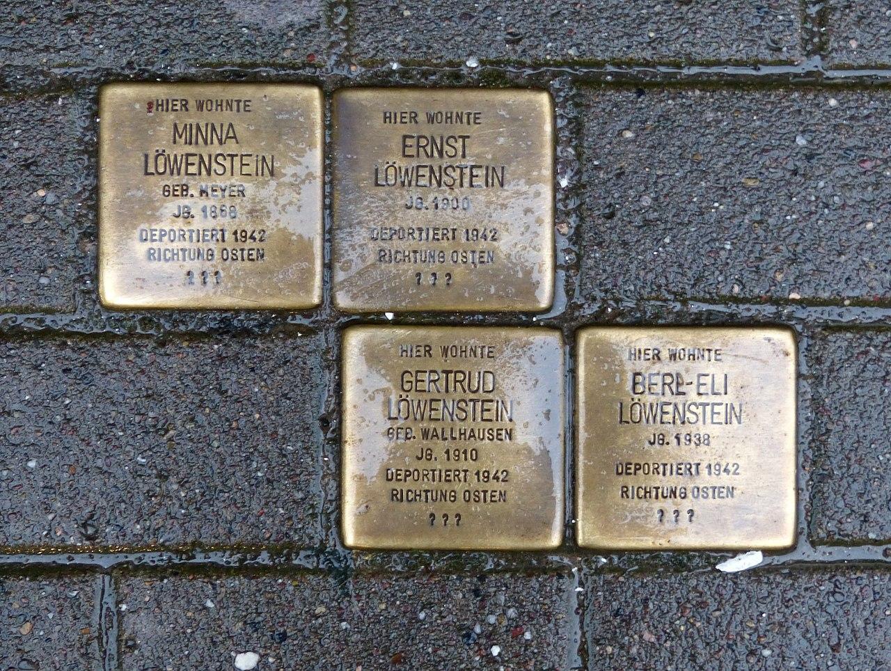 Verlegestelle Westerbachstraße 5