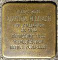 Stolpersteine Krefeld, Martha Hildach (Rheinstraße 67).jpg