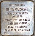 Stolpersteine Salzburg Olga Sachsel.jpg