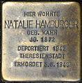 Stolpersteine Würzburg, Natalie Hamburger (Domstraße 26).jpg