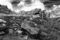 Stones Fagaras Mountains bw 003 (RO).jpg