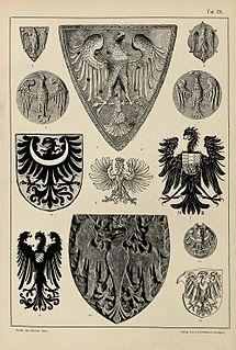 Eagle (heraldry) heraldic bird