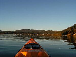 Kettering, Tasmania - Image: Strahan Easter Sunrise 117