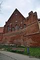 Stralsund, Katharinenkirche, Giebel, und Stadtmauer (2012-04-10) 3, by Klugschnacker in Wikipedia.jpg