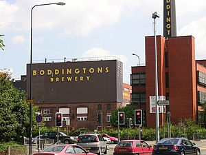 Boddingtons Brewery - Another view of Strangeways Brewery