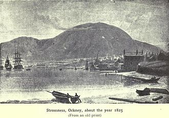 Stromness - Stromness in 1825