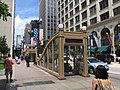 Subway Entrance, Chicago, Illinois (9179338235).jpg