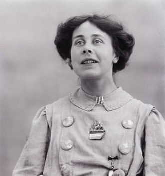 Mary Phillips (suffragette) - Image: Suffragette Mary Phillips 1909. Blathwayt, Col Linley