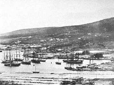 Sundsvalls hamn på 1800-talet