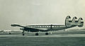 Super Constellation, Heathrow, 1960 (299298405).jpg