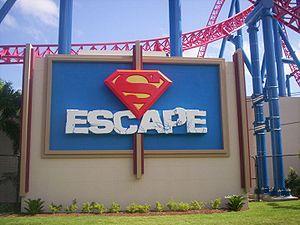 Superman (franchise) - Superman Escape at Warner Bros. Movie World