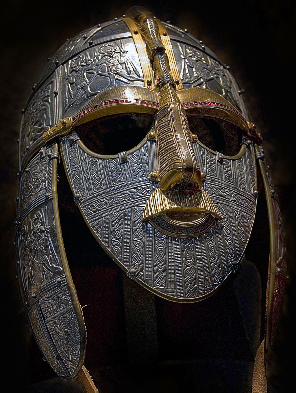Sutton Hoo helmet reconstructed