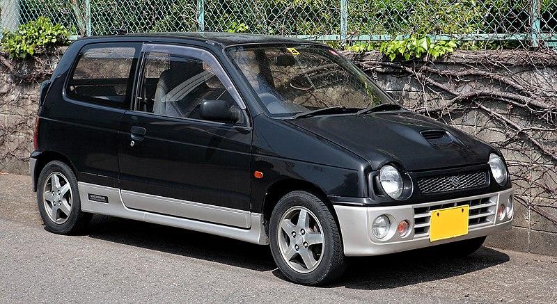 Suzuki Alto-enjin 660cc inline4 turbocharged