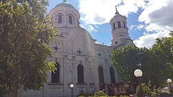 Sveti Nikolay Chudotvorets church in Stara Zagora, Bulgaria.jpg