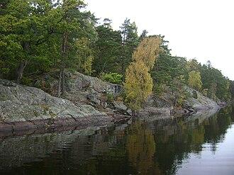 Övre Rudasjön - Image: Sweden. Stockholm County. Haninge Municipality. Handen 057