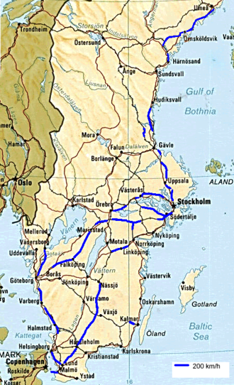 Schnellfahrstrecke – Wikipedia
