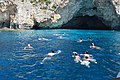 Swimming to the Blue Caves of Paxi.jpg