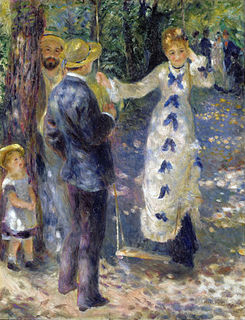 <i>The Swing</i> (Pierre-Auguste Renoir) painting by Auguste Renoir